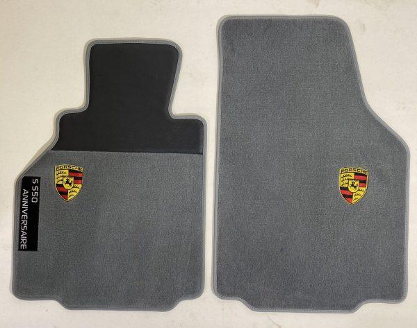 Porsche Boxter 986 2004 écusson sur-tapis sur tapis gris anthracite