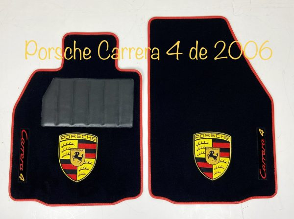 Sur Tapis Porsche carrera 4 de 2006