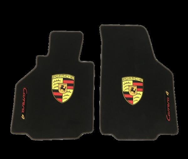 Sur tapis sur-tapis Porsche écusson moquette noir carrera4 carrera