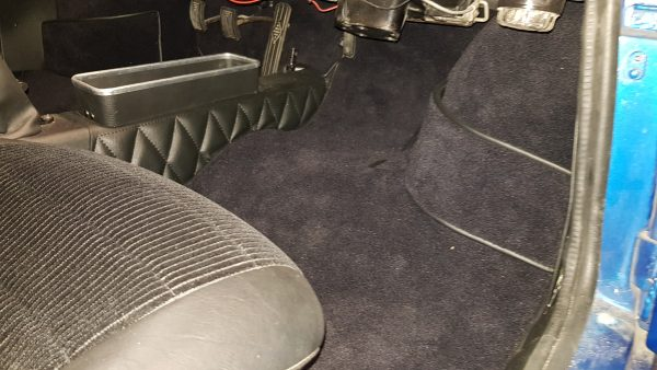 Renault Alpine Berlinette tapis de sol passager noir