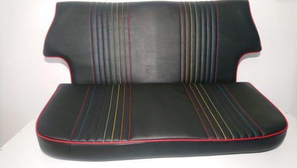 Réfection sièges et banquette de Mini Cooper