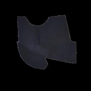 Renault black carpet wheel passage