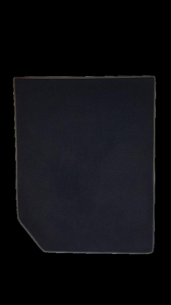 Renault Alpine black carpet back carpet