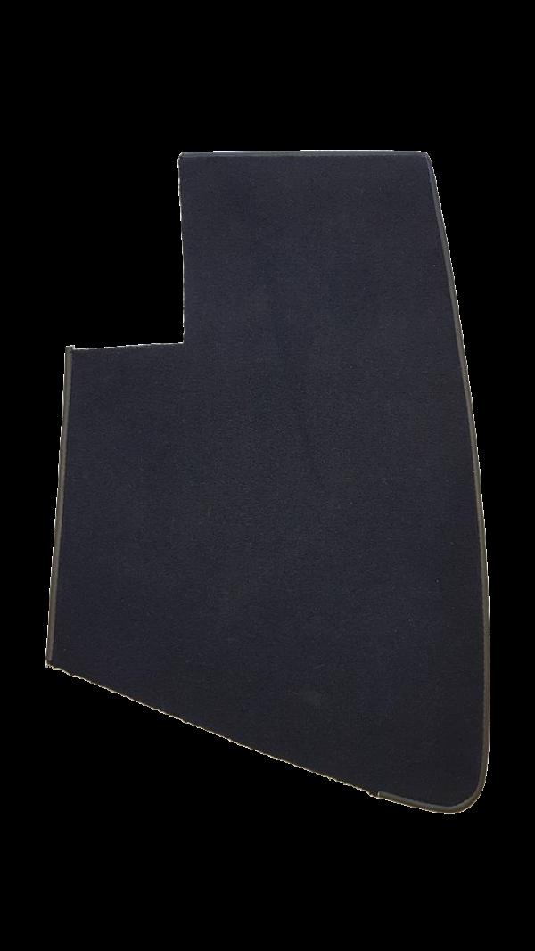 Dossier d'assise arrière Renault Alpine moquette noire noir