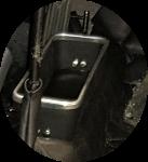 Vide poche central noir Renault Alpine Berlinette A110