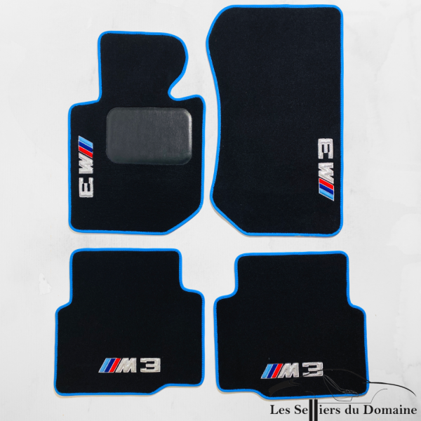 On carpet BMW pack M