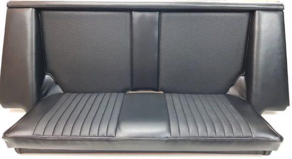 Simca 1200's black seat