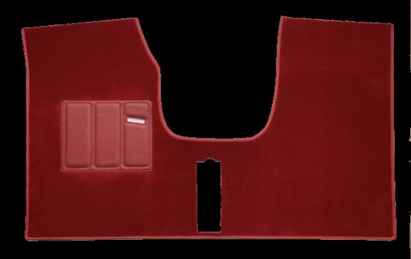 Renault 5 Alpine Turbo Tapis Avant moquette rouge rubis