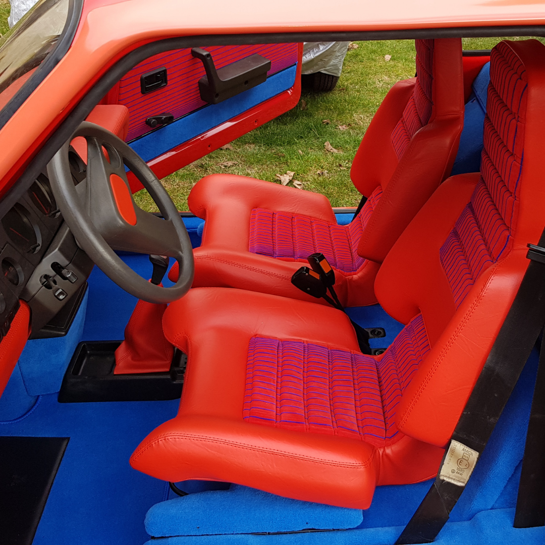 Selleries Intérieur Renault 5 Turbo T1 T2 R5T Les selliers du domaine
