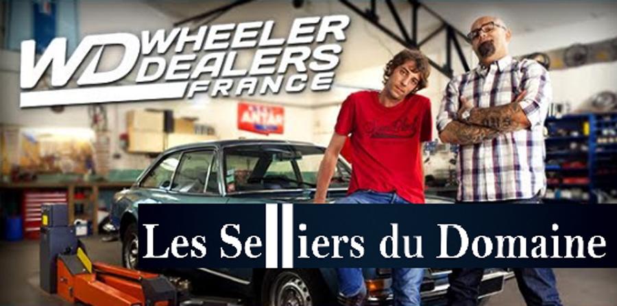 Wheeler Dealers France rend visite à la team Selliers