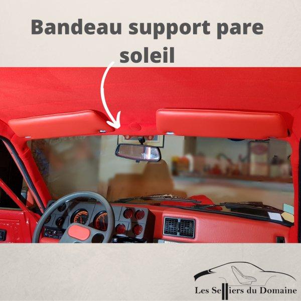 Bandeau support pare soleil R5T Renault 5 Turbo