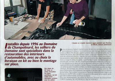 Article Mille Miles – 1999