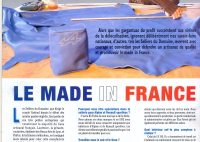 Article Berlinette mag 2015